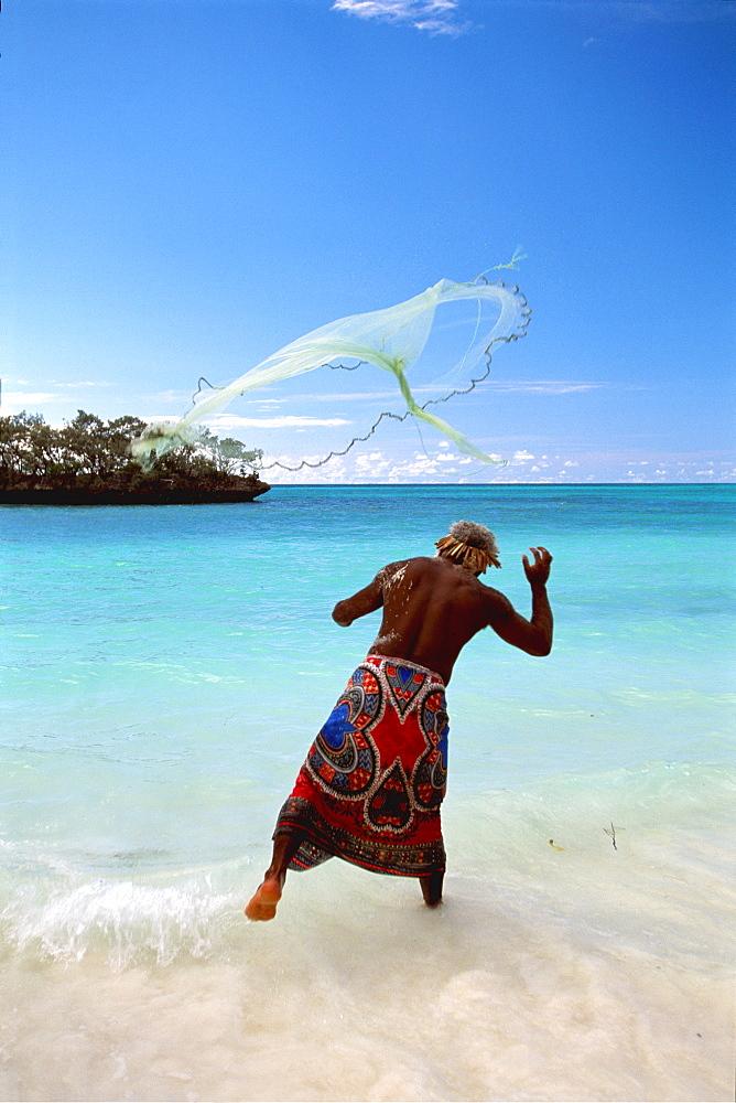New Caledonia, Fisherman