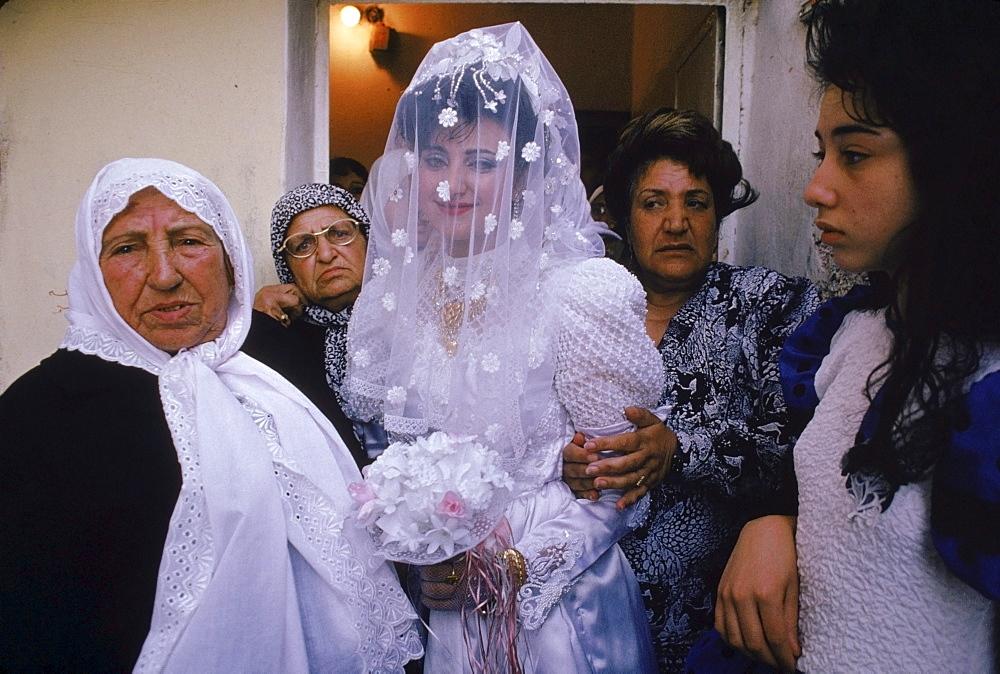 Jerusalem, Gaza Strip, Shufat Camp Wedding