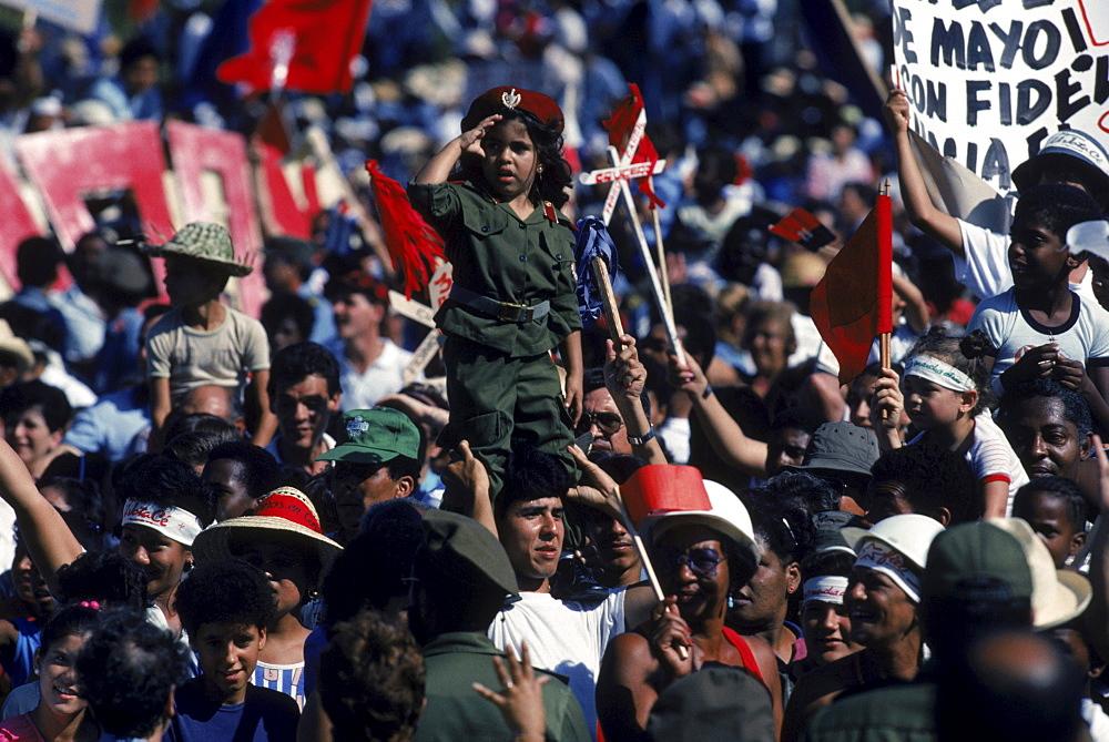 At the Plaza de la Revolucion.