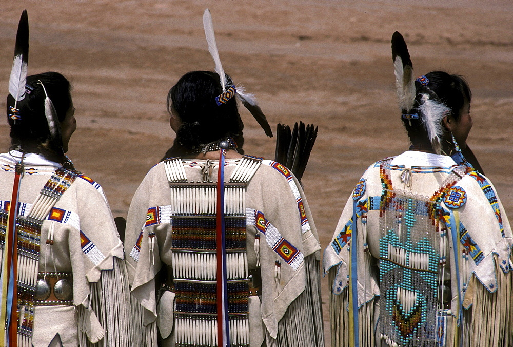 Native Americans of various tribes gather annually for the Inter-Tribal ceremonial held in Gallup, New Mexico
