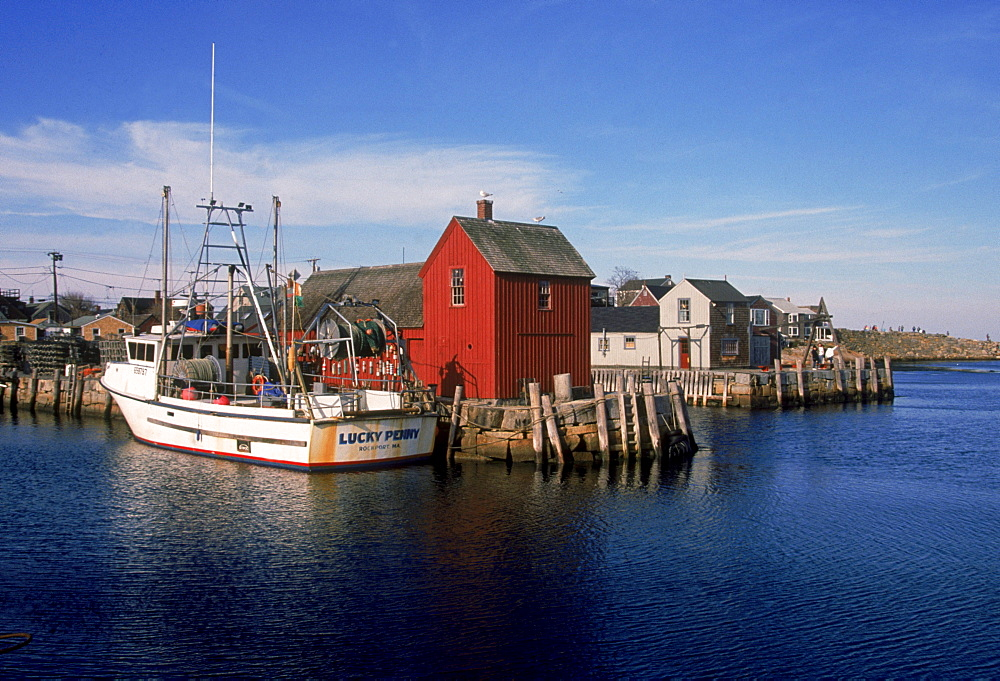 photo of the famous photographed rockport Motif #1