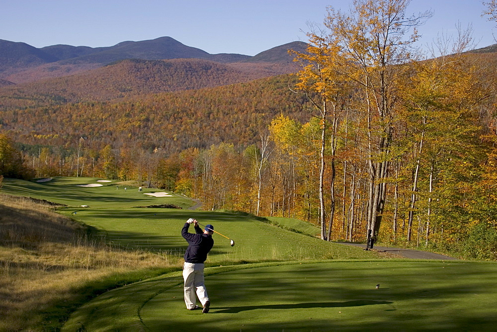 Golfing at Sunday River - 857-41971