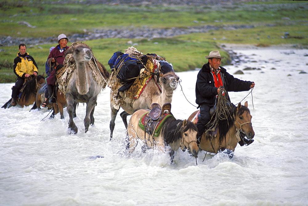 Horse trek, Altai Tavan Bogd National Park, Mongolia