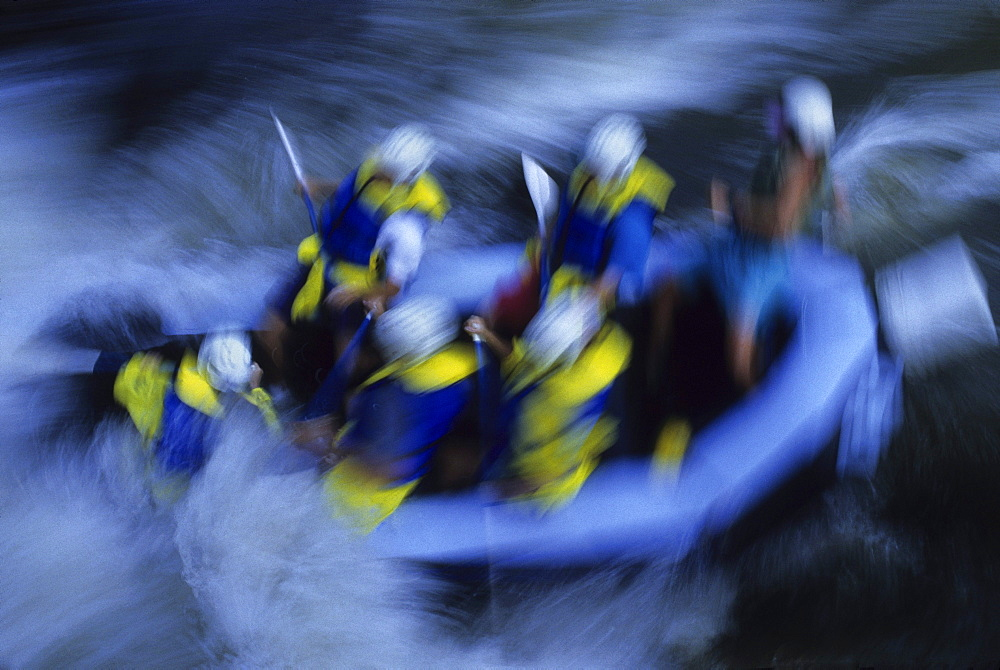 Rafting Rapids on Chattooga River