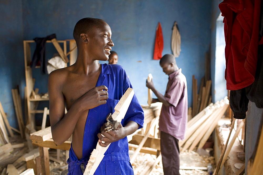 Furniture shop, Kigali, Rwanda