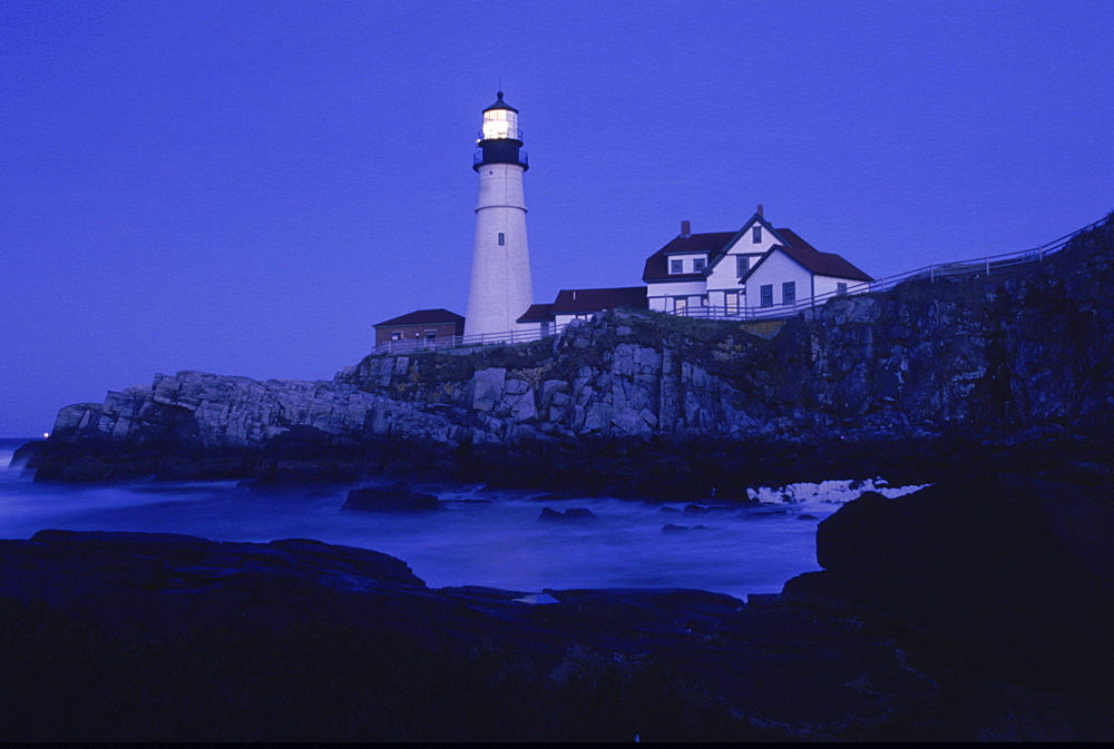Portland Head Light, one of the oldest lighthouses in America