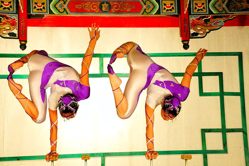 Acrobatic performers Ulaanbaatar, Mongolia