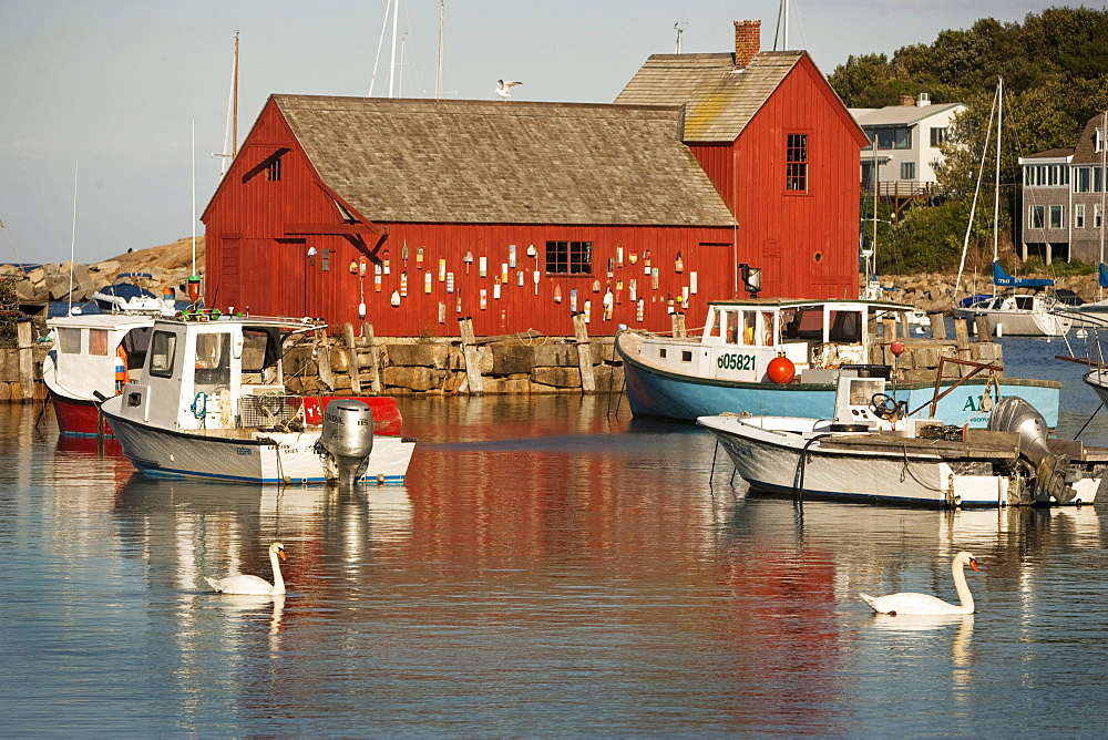 The famous Motif No. 1 is the focalpoint of the Rockport, Mass harbor.