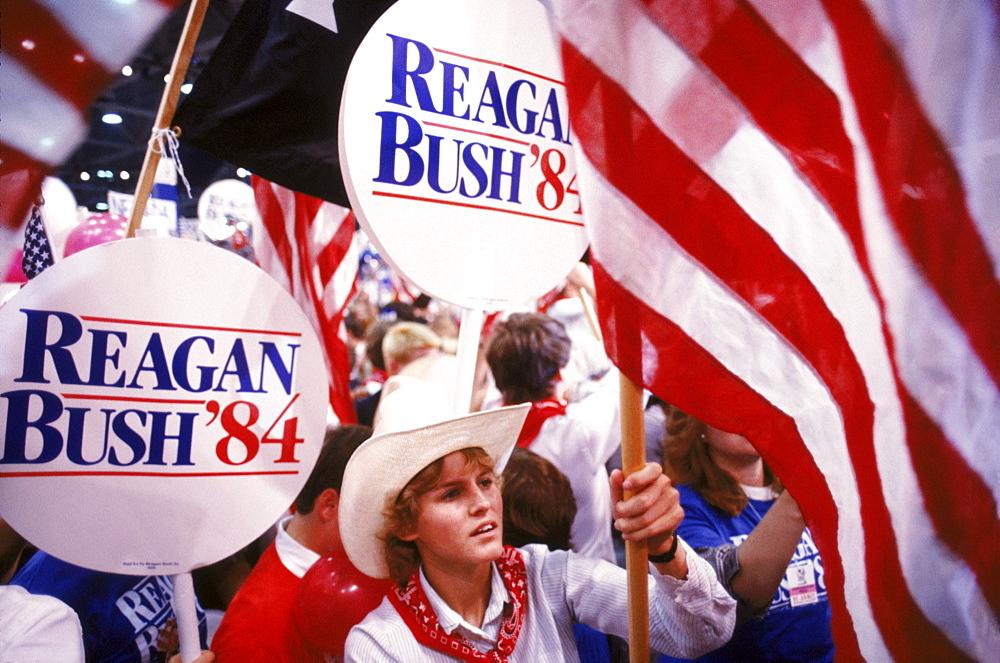 USA Presidential Campaigns, GOP Convention, Dallas TX
