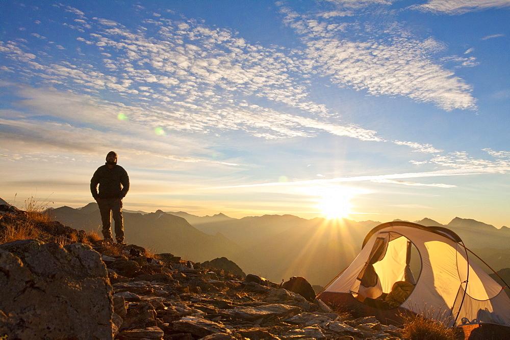 Alpine Backpacking, Pemberton, British Columbia, Canada