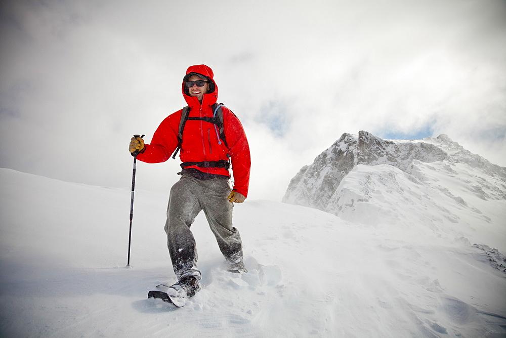 Mountain Snowshoe, Chilliwack, British Columbia, Canada