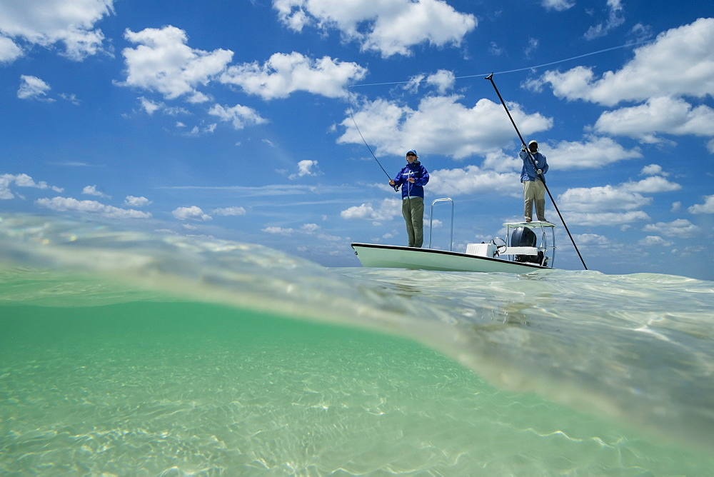 Fly fishing in the Bahamas