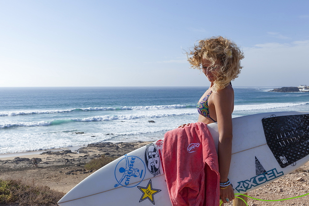 Janni Hönscheid is a professional surfer from germany