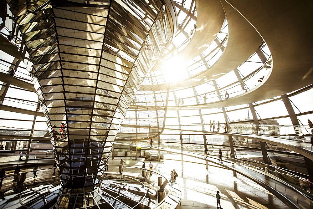 Reichstag Dome in Berlin, Germany - 857-91273