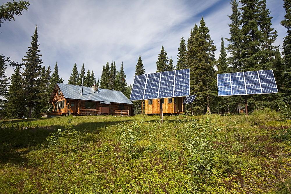 A Wilderness Lodge near McCarthy, Wrangell-St. Elias National Park, Alaska.