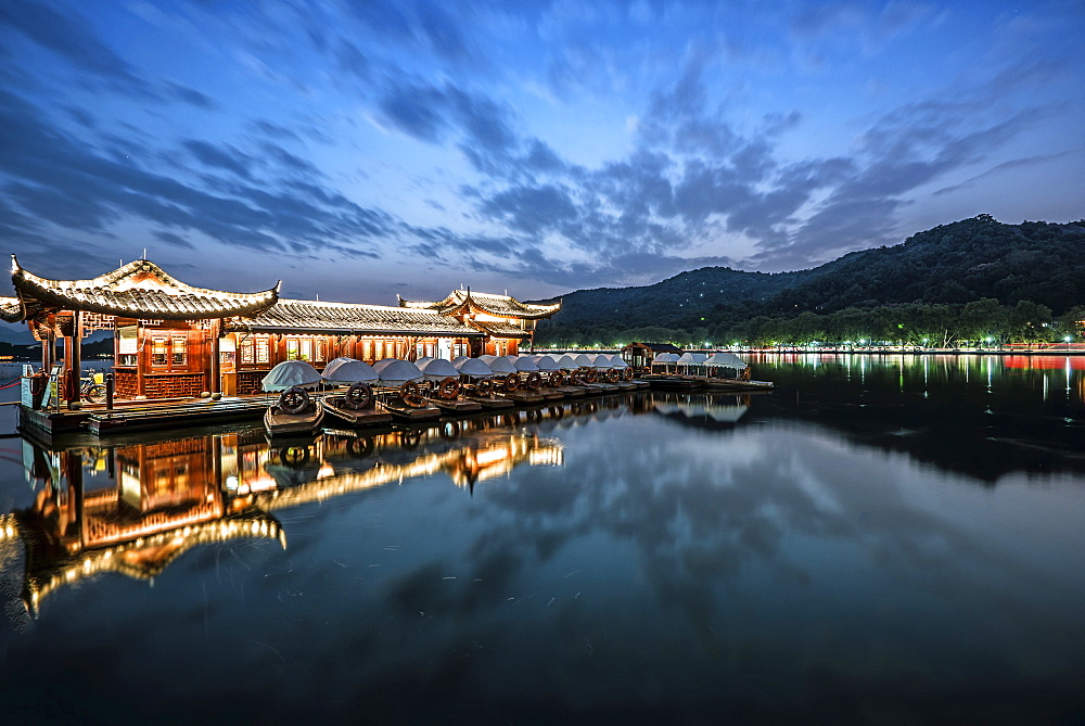 West Lake - Blue Hour
