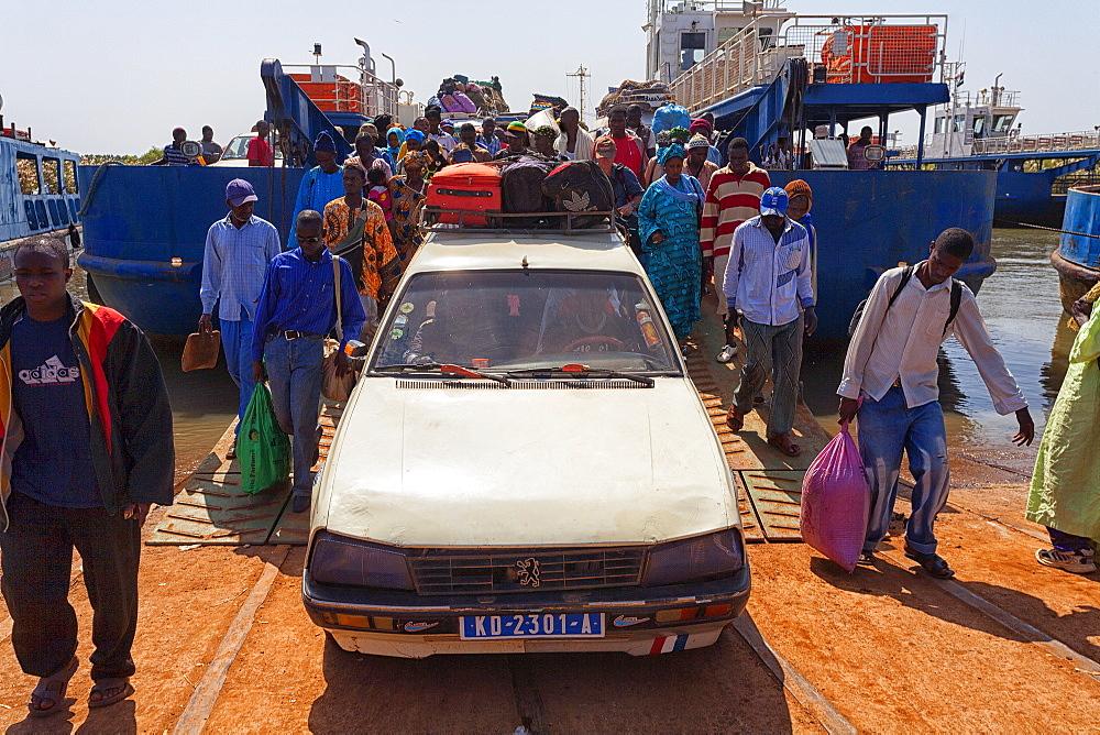 Dakar-Ziguinchor Ferry, Ferry Port, Dakar, Senegal, Africa