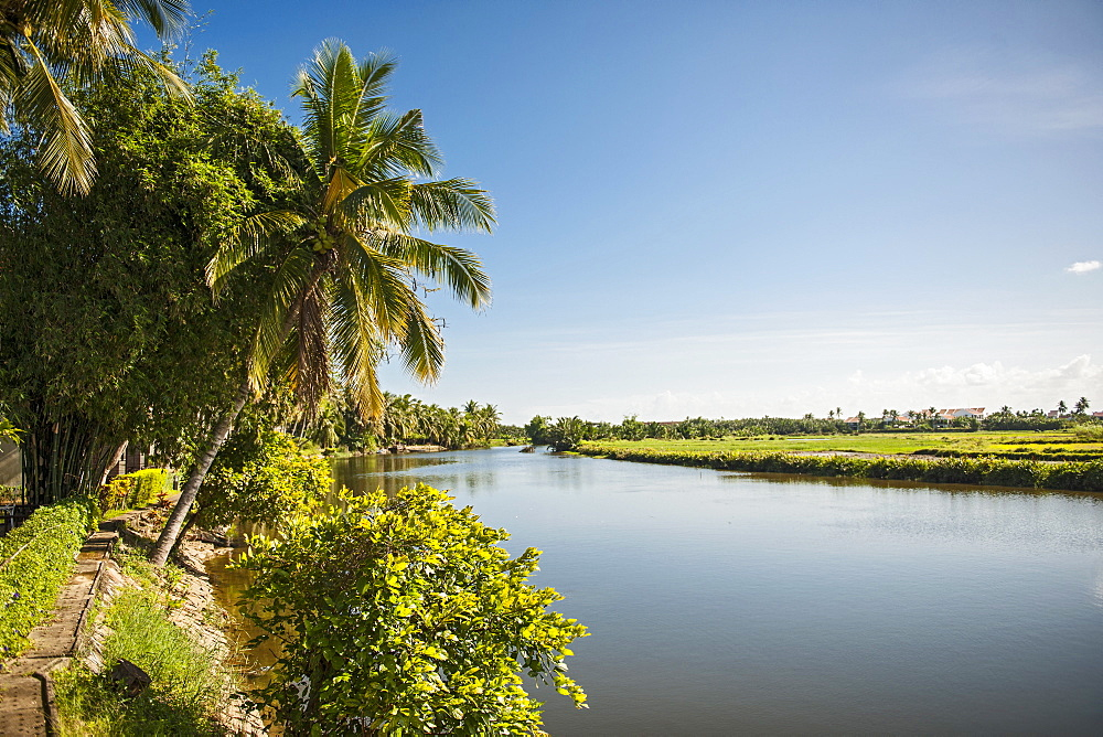 Scenic View Of Calm River At Quang Nam Province