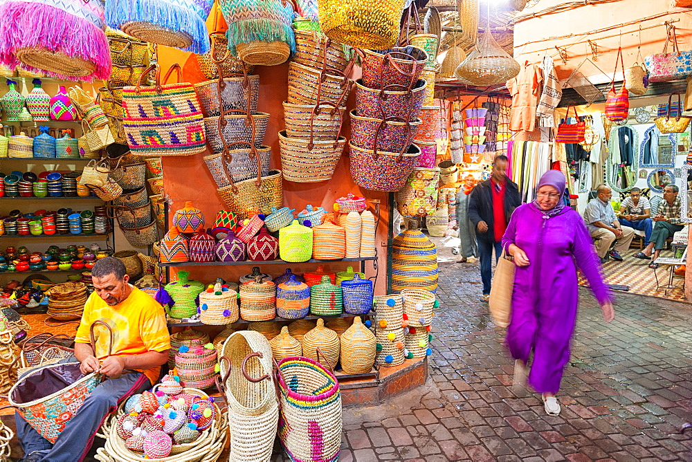 Market At Rahba Qedima, Marrakech, Morocco