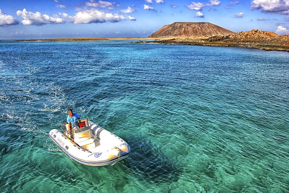 Isla De Los Lobos In Fuerteventura, Canary Islands, Spain