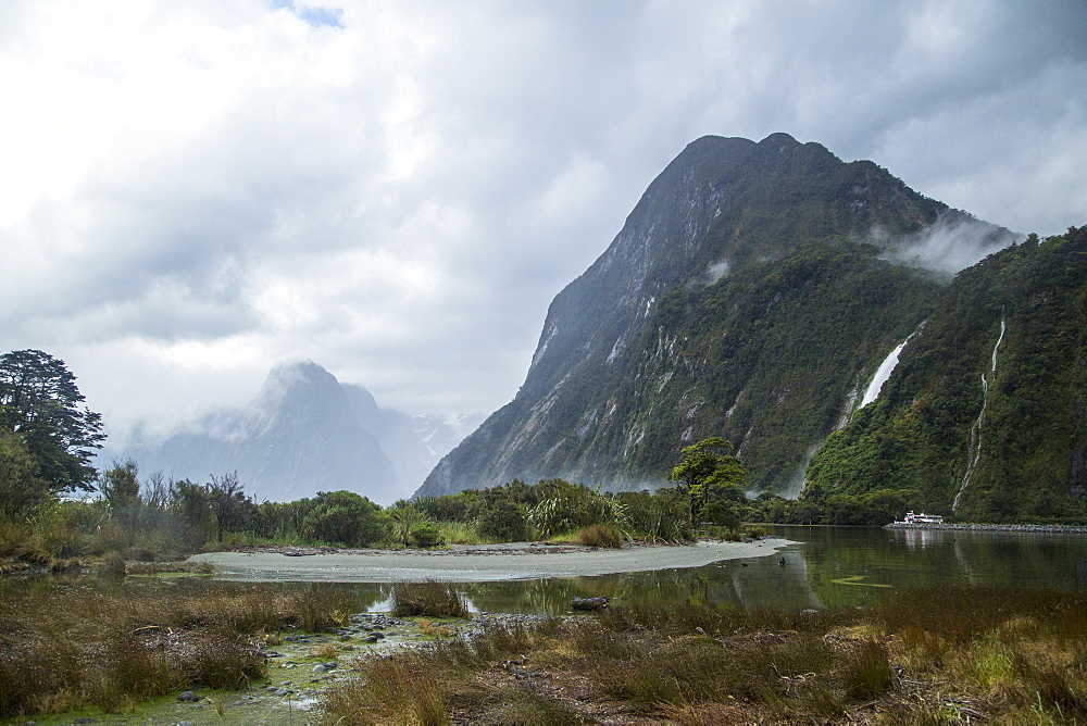 Milford Sound Seen Just After Storm In New Zealand