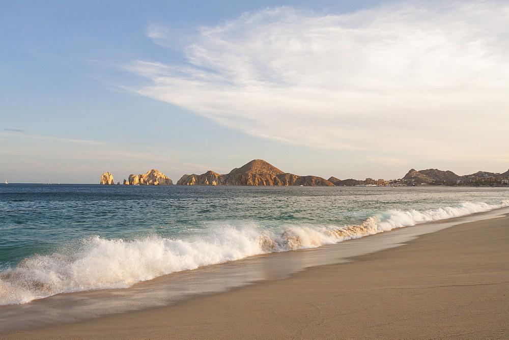 Medano Beach In Cabos San Lucas, Baja California Peninsula, Mexico