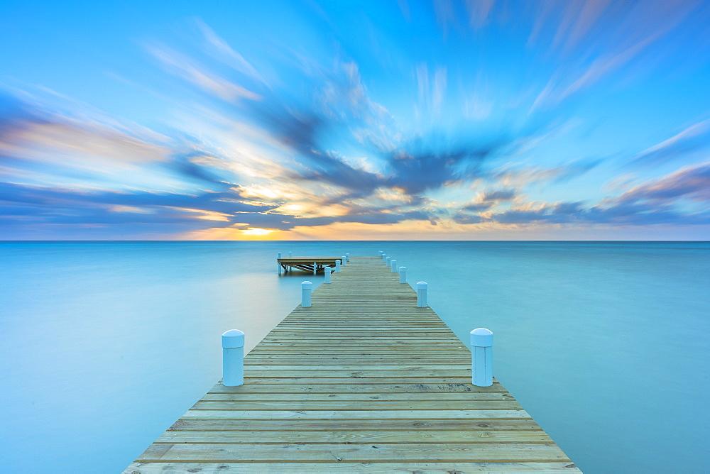 Beautiful Sunset in Belize