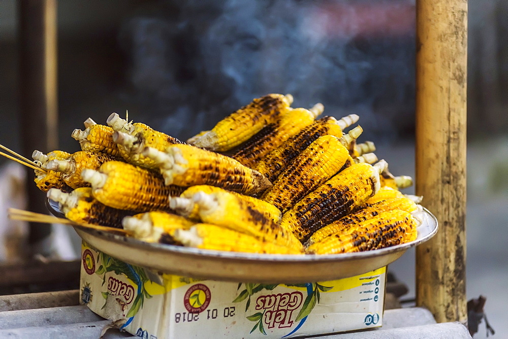 BBQ Corncobs,Bali,Indonesia