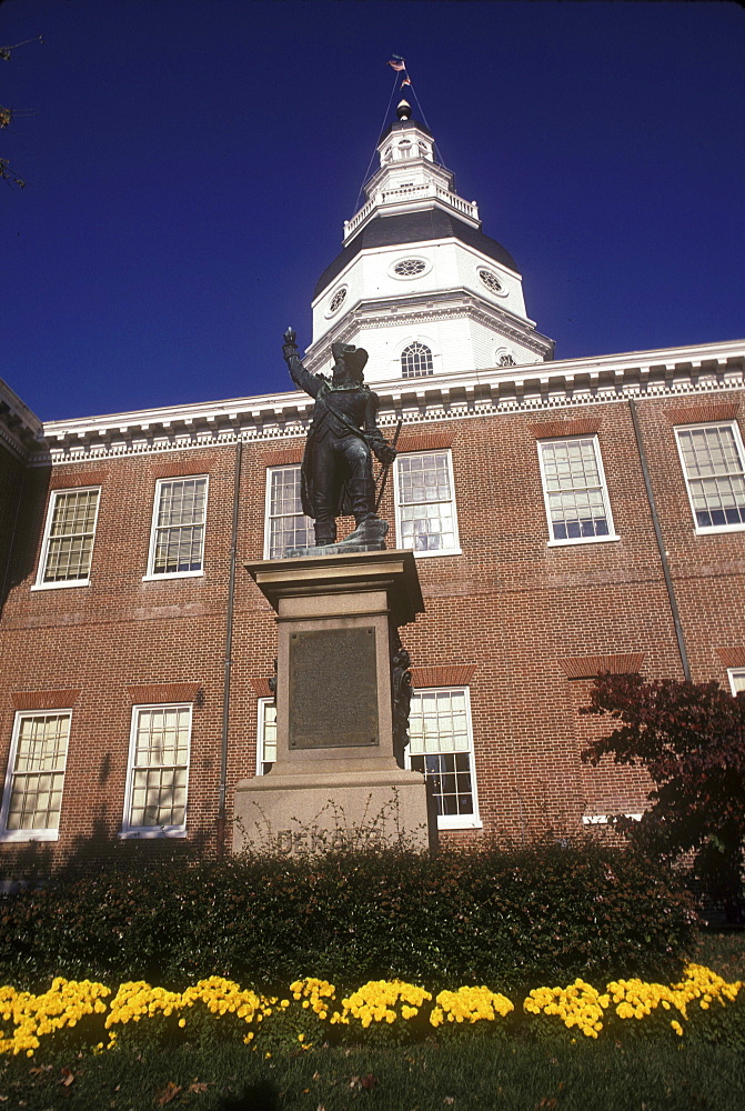 State Capital Building, Annapolis, Maryland