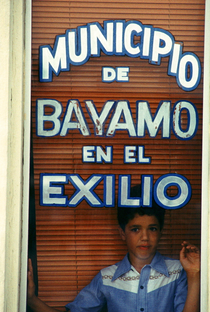 Bayamo Municipal Center, Little Havana section of Miami, Florida. Dade County, Florida and the city of Miami are a melting pot for Haitian, Cuban and Hispanic immigrants in general.