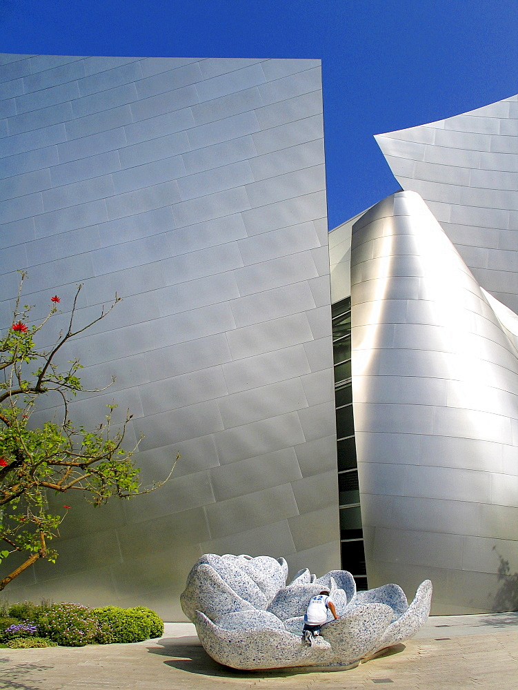Walt Disney Concert Hall, Down Town, Los Angeles, California, United States of America