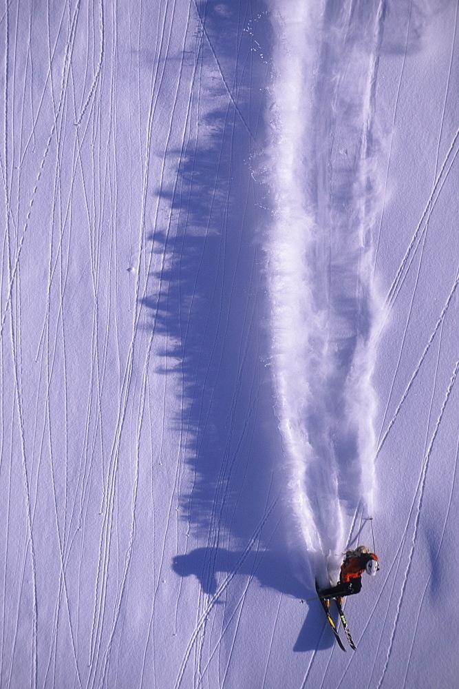 Eric Hjorleifson big mountain skiing in Terrace, British Columbia, Canada