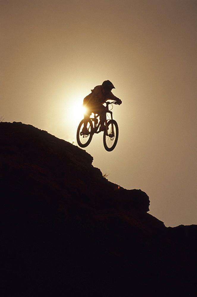 Robbie Bourdon, big air at the NWD 6 in Virgin, Utah, United States of America