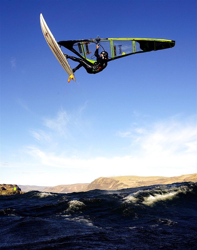 Brian Metcalf Perez floats a nice jump at The Wall - Maryhill, WA, United States of America