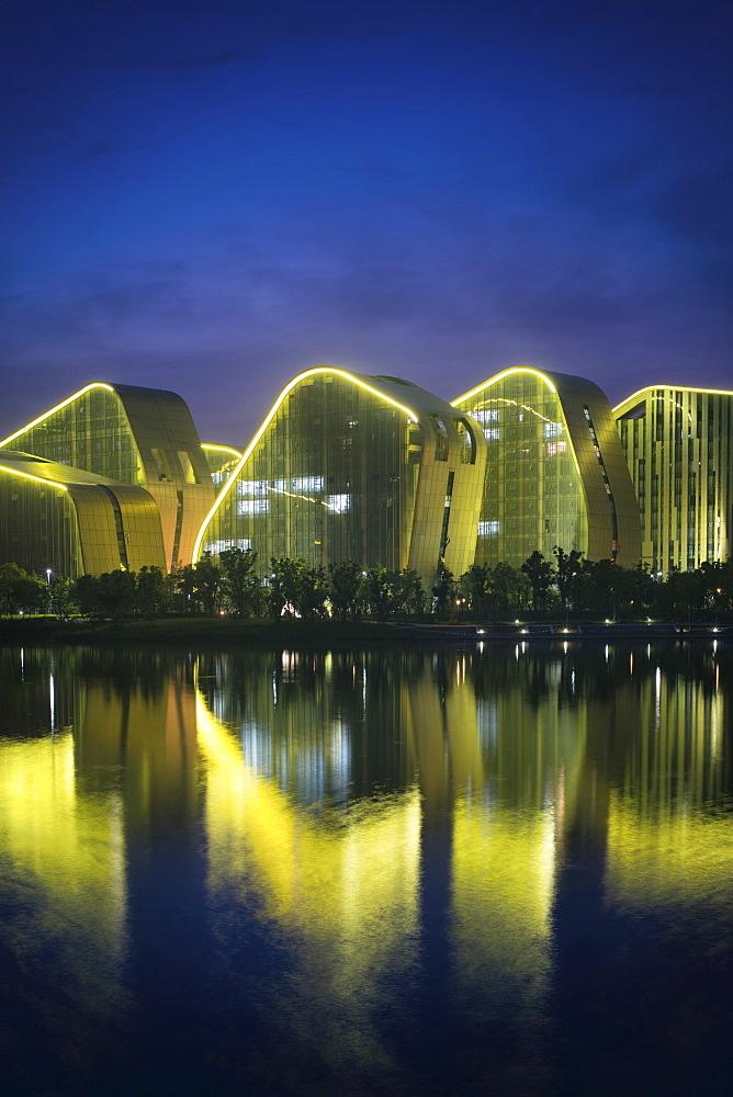 Baimahu Convention Center Architecture (Vertical)