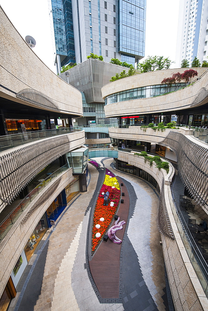 shopping mall in Seoul
