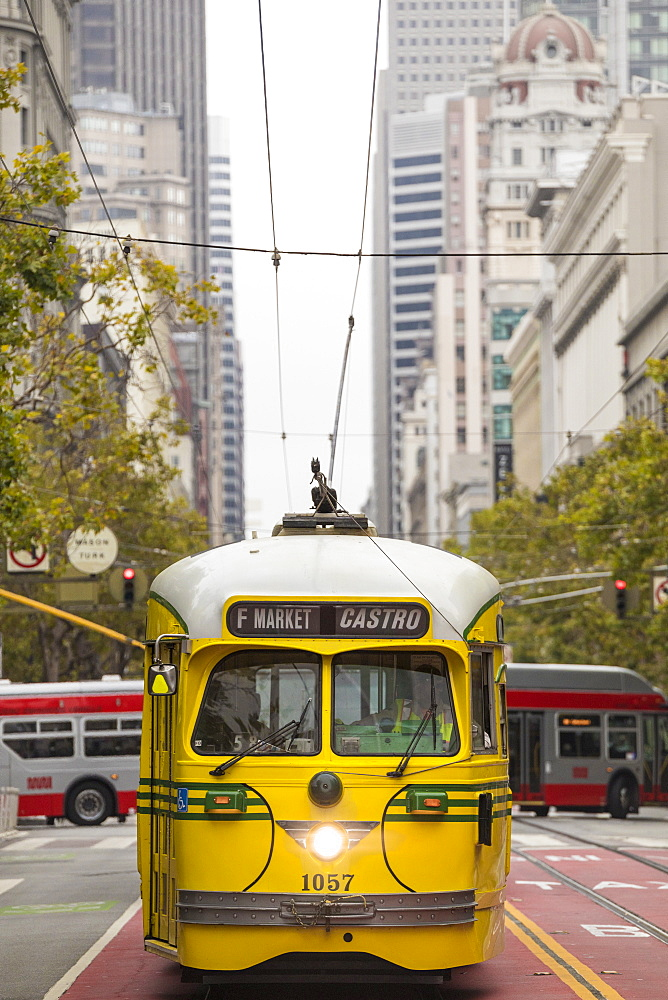 Market Street Railway, San Francisco, California, USA