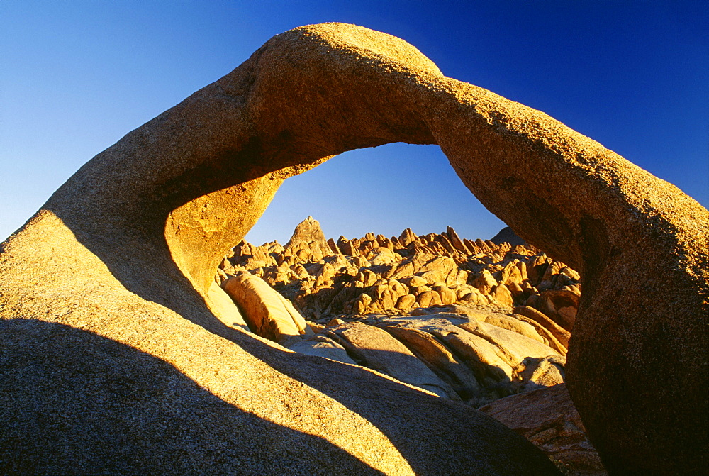 The Alabama Hills In The Sierra Nevada Mountain Range, California