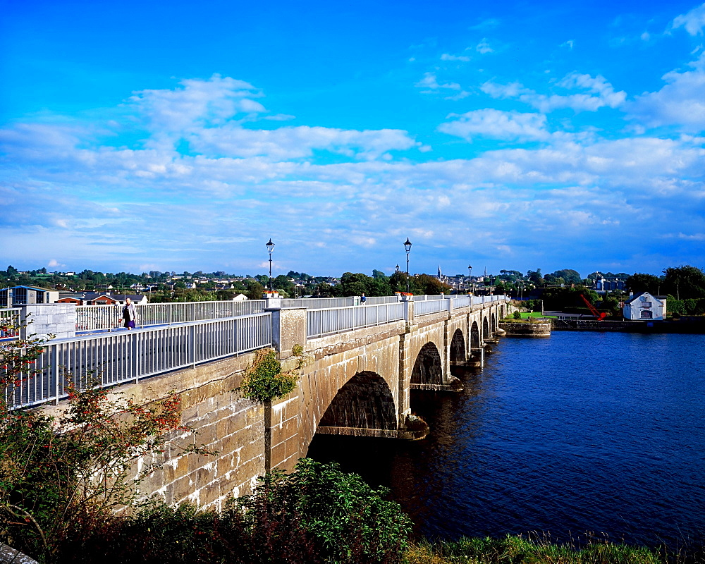 Bridge Over The River Shannon, Banagher, Co Offaly, Ireland