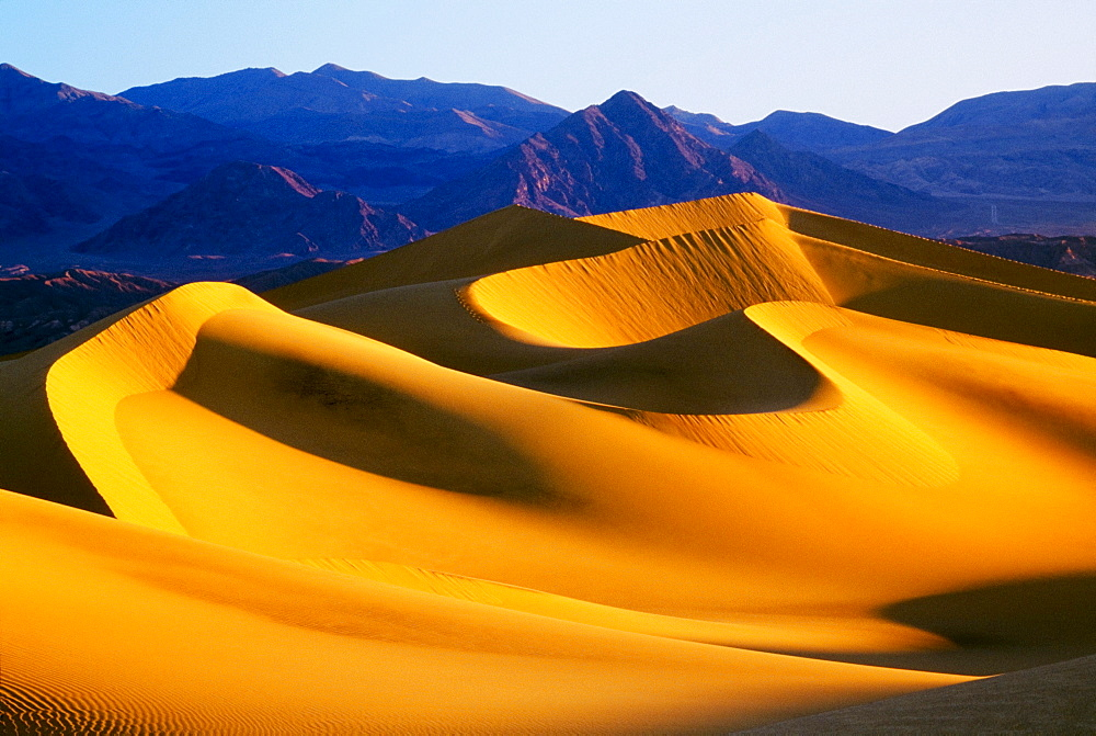 Sand Dunes, Death Valley National Park, California, Usa