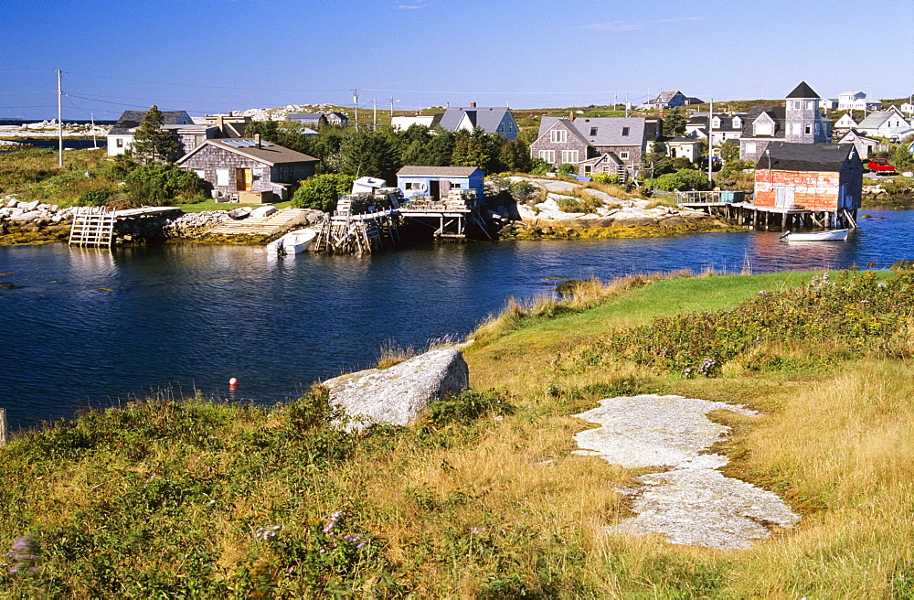 Fishing Village Of Prospect, Nova Scotia, Canada