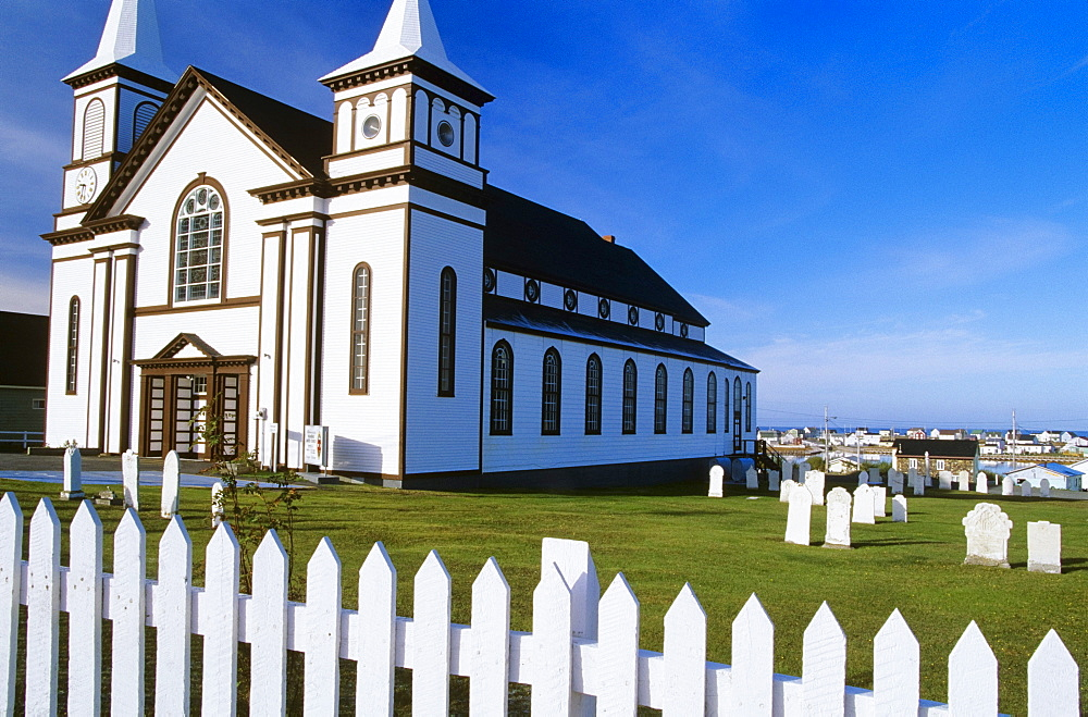 Historic Memorial United Church, Bona Vista, Newfoundland, Canada