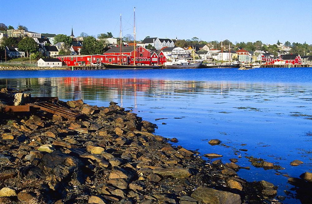 Historic Lunenburg Waterfront, Lunenburg, Nova Scotia, Canada