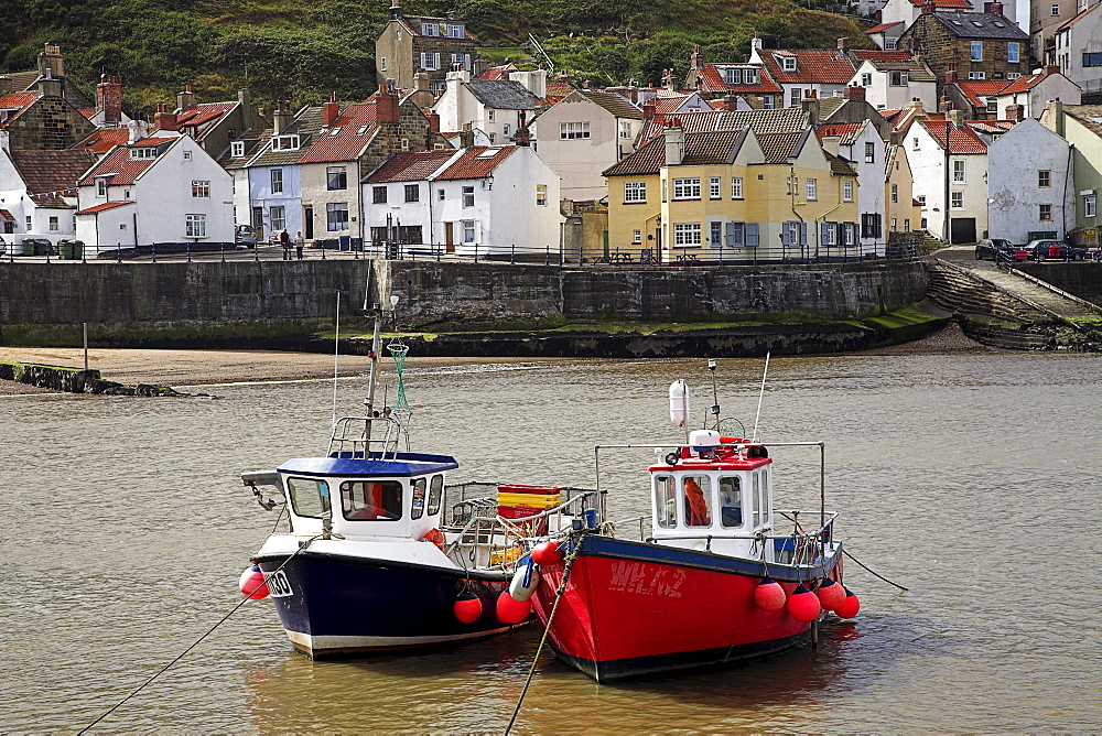 Fishing Boats, Staithes, North Yorkshire, England