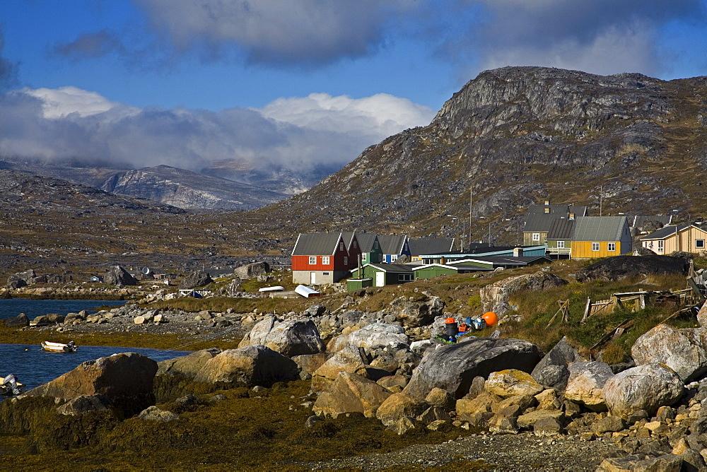 Port Of Nanortalik, Island Of Qoornoq, Province Of Kitaa, Southern Greenland, Kingdom Of Denmark