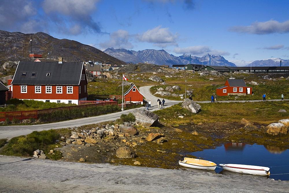 Museum In Nanortalik Port, Island Of Qoornoq, Province Of Kitaa, Southern Greenland, Kingdom Of Denmark