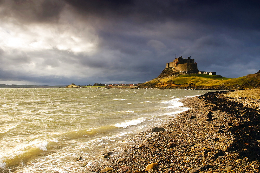 Lindisfarne Castle, Holy Island, Berwick-Upon-Tweed, Northumberland, England