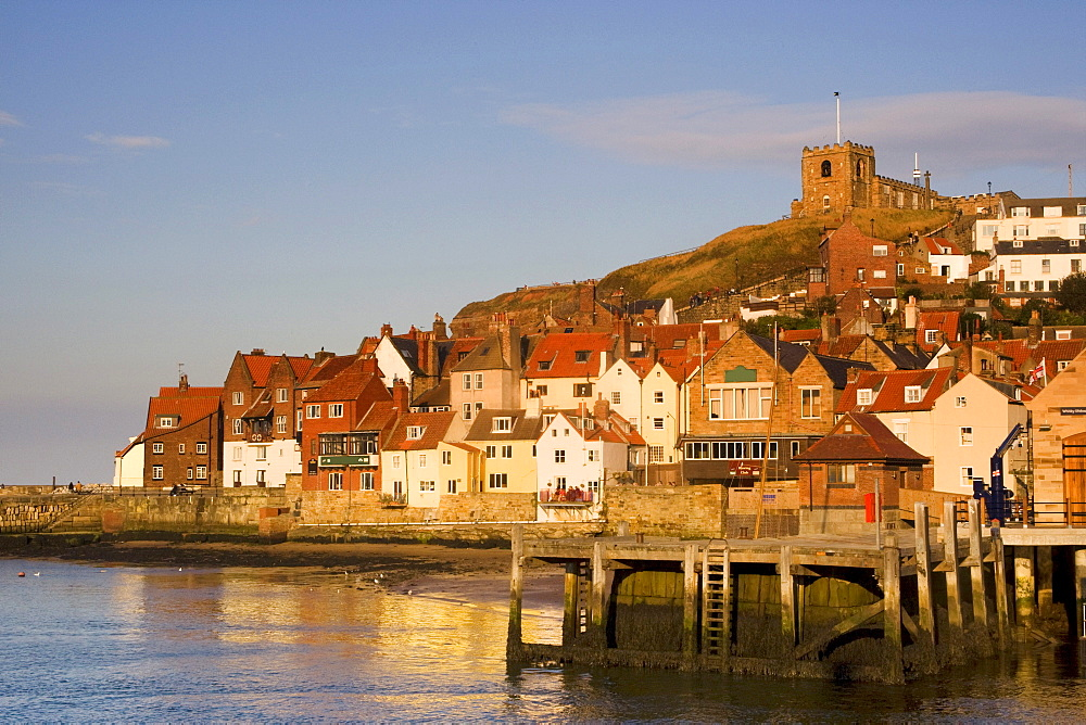 Cityscape Of Whitby, North Yorkshire, England