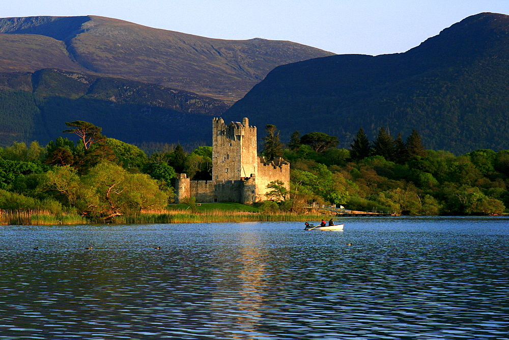 Lough Leane, Ross Castle, Killarney National Park, County Kerry, Ireland