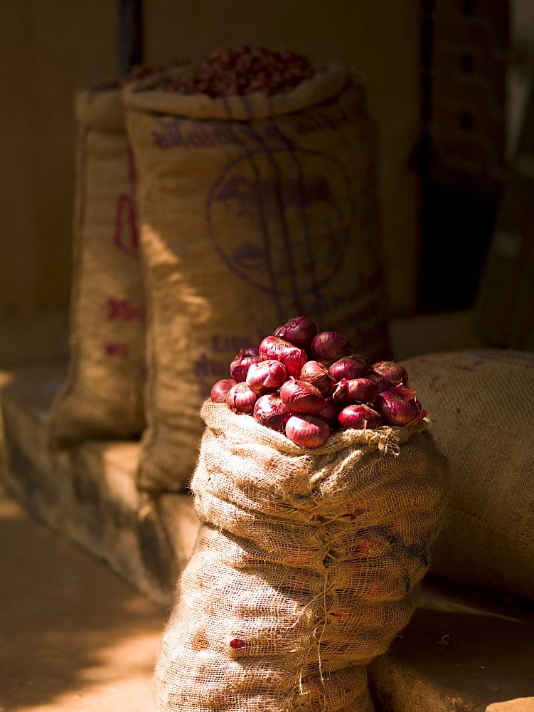 Sack Of Potatoes, Kerala, India